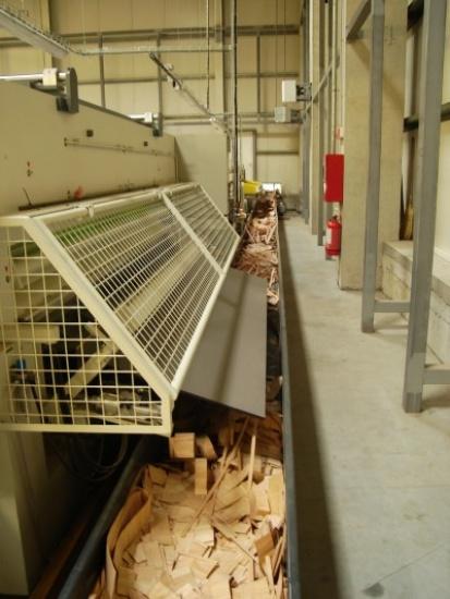 Banda transportoare PVC lemn - Client: Grupul Holver